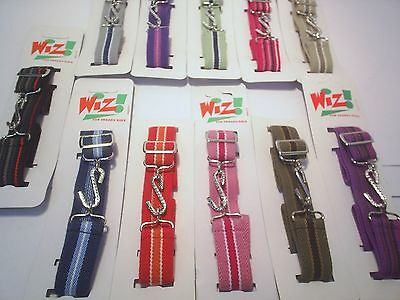 Kids Elastic Stripe Snake Belts Heavy Duty School Weddings  Party Playtime