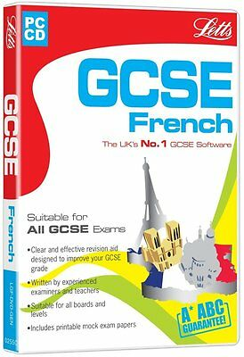 Letts Gcse French (Pc-Cd) New Sealed