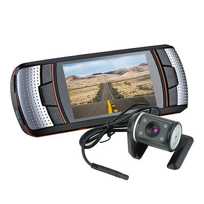 "Full HD 1080P 2.7"" LCD CCTV In Car DVR Dash Camera Video Recorder+G-Sensor ZOOM"