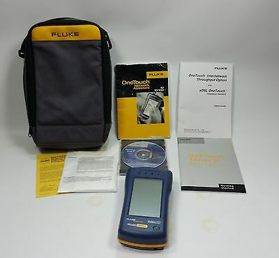Fluke OneTouch Series II Network Assistant Set 10/100