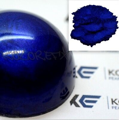 Plasma Deep Blue Pearl Pigment Plastidip Paint Kandy Dip Art Gloss Clear Halo