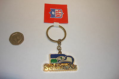 NFL metal key ring chain SEATTLE SEAHAWKS  new keyring american football