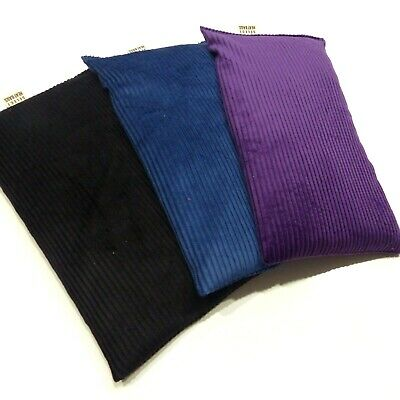3 x Wheat Heat Bags Pack LAVENDER black,blue,purple BULK FREE POST