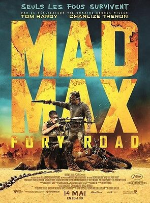MAD MAX FURY ROAD Affiche Cinéma / Movie Poster George Miller 160x120