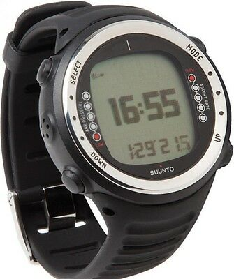 Suunto D4i Black Dive Computer with Freedive Mode and Air Integration