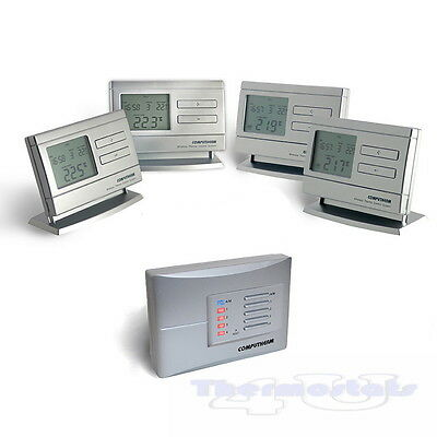 Multi-Zone Wireless Programmable Thermostat Quality Room Stat Computherm Q8RF