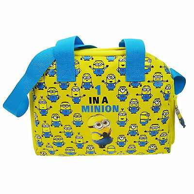 NEW OFFICIAL Despicable Me Minions Boys Kids Duffle Holdall Kit Overnight Bag