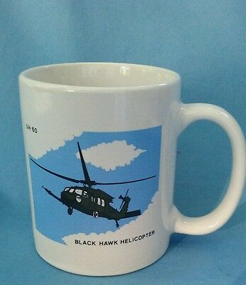 Uh-60 Blackhawk helicopter coffee cup
