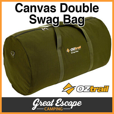OZTRAIL DOUBLE CANVAS SWAG CARRY BAG Fits Mitchell Double Swag