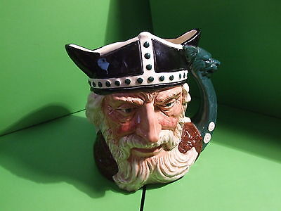 Royal Doulton Large Character Jug Viking D6496