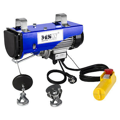 Professional Power Electric Winch Hoisting 250Kg 230V Wire Of 12,5M All Vehicles