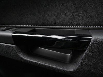 ASTRA H Mk5 (2004–2010) Black Gloss Effect Inner Door Handle Cover trims