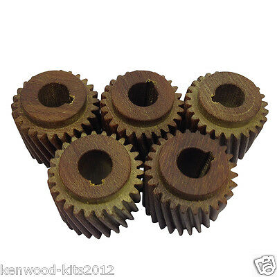 5 X Fibre Motor Pinion Gear For Crypto Peerless C28 Potato Peeler 5/8Ths Shaft.
