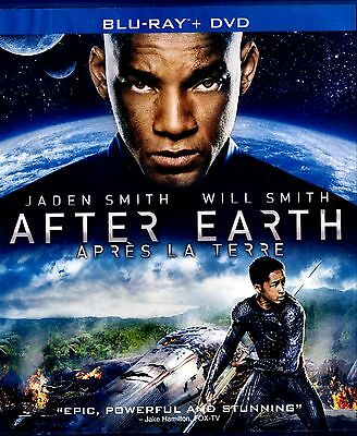 After Earth (Two Disc Combo: Blu-ray / DVD) WILL SMITH , JADEN SMITH