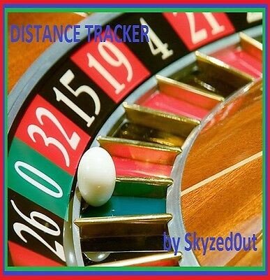 Roulette Software System  Program Outcoming Numbers Predictor Distance Tracker