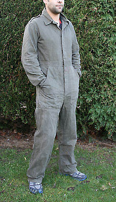 Military Dutch Army Mechanic Overall Boiler Suit Used D.I.Y Paintball Coverall