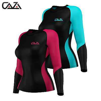 Womens Compression Shirt Long Sleeve, Base Layer, Running Gym Training women Top