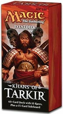 MTG Magic the Gathering Mazzo da Evento / Event Deck Khans of Tarkir nuovo ENG
