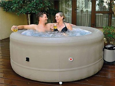 "Rio Grande 29"" Deep Inflatable Hot Tub  - 4 Person Portable Spa - 88 Jets"