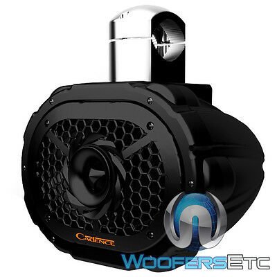 "Cadence Swb69B 6""x9"" 2-Way Silk Tweeter Marine Boat Wake Board Tower Speaker New"