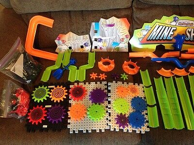 Discovery Toys Marble Works 37 Pieces Plus 8 Marbles