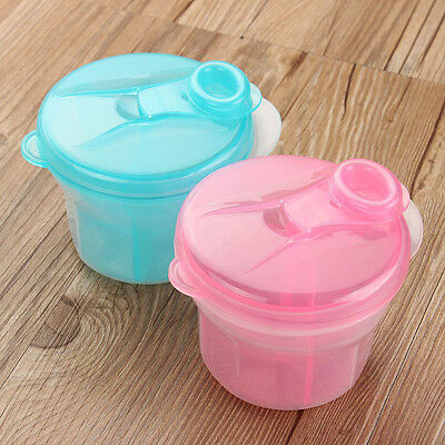 Travel Portable Baby Milk Powder Formula Food Container Storage Feeding Box Case
