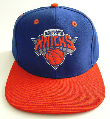 9eb07342d92 New York Knicks Nba Vintage Style Flat Bill Snapback 2-Tone Adidas Cap Hat  New