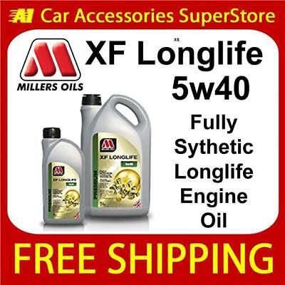 Millers XF Longlife Replaces XFE-PD 5Ltr 5w40 Synthetic Engine VW 505.00 505.01