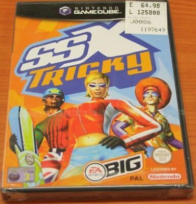 Ssx Tricky Ea-Sports_Game Cube/gamecube/wii_100%italian!bargain!new & Sealed