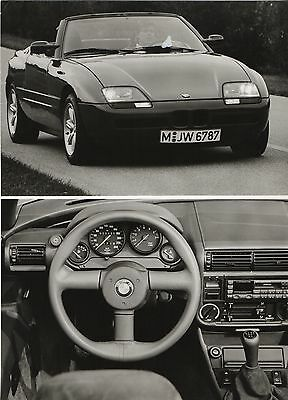 bmw z1 roadster launch press photograph 1988 picclick uk. Black Bedroom Furniture Sets. Home Design Ideas