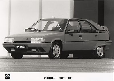 Citroen BX 19 GTI Press Photograph