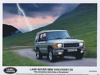 Land Rover Discovery ES Press Photographs x 2  1998