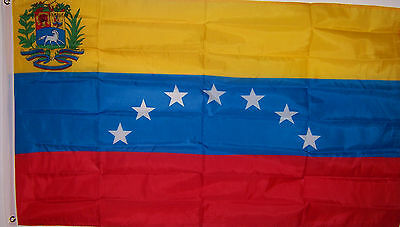 Venezuela Flag New 3x5 ft SEVEN 7 star Venezuelan