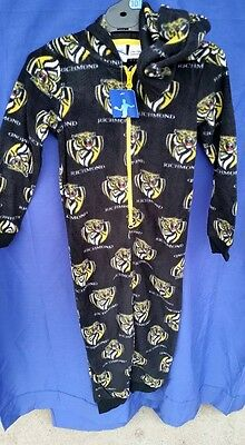 Afl Kids Onesie - Sleepwear - Richmond Tigers - 3 To 12 - New