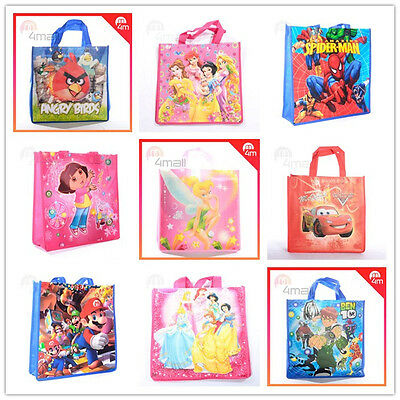 Kids Boys Girls Reusable Gift Shopping Tote Library Carry Lunch School Swim Bag
