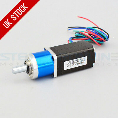 5:1 Planetary Gearbox Nema 8 Stepper Motor 0.6A 4-wires Samll Size High Torque