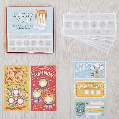 Lucky You! Scratch Card Making Kit
