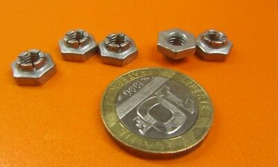 """10 Pc Expanding Hex Nuts RH 18-8 Stainless Steel 10-32 x 3//8/"""" W x 3//16/"""" H"""