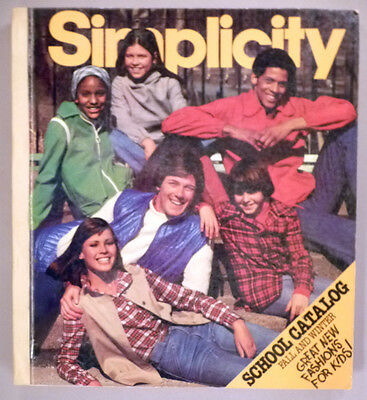 Simplicity Patterns CATALOG - Fall/Winter, 1977 ~~ Store Counter Book