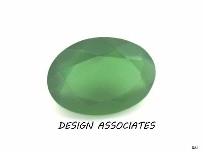 20x15 MM OVAL CUT NATURAL GREEN ONYX  ALL NATURAL AAA