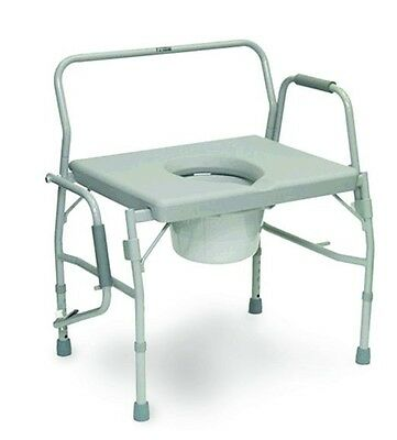 NEW ProBasics - Bariatric DROP ARM  Commode - 650 lbs Capacity