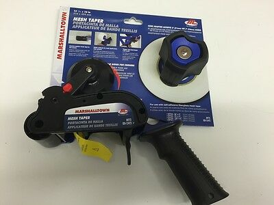 "Marshalltown Mt72 Drywall Mesh Scrim Taper Gun 12.5"" X 10""-Quick Tape Dispesnser"