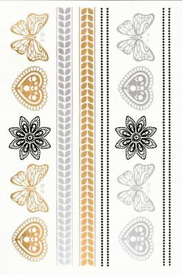 Metallic Tattoo 145x205mm 503