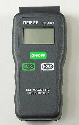 Peak/Hold EMF Gaussmeter  - finds Worst Case Exposure