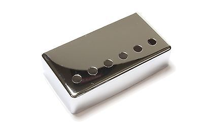 Humbucker Pickup cover Chrome plated nickel silver 53mm pole spacing