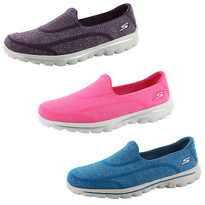 Skechers Go Walk 2 Super Sock 2 Womens Slip On Walking Shoes 13947