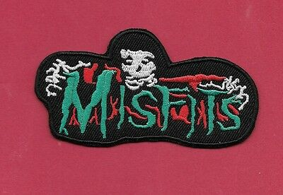 NEW 2 1//2 X 3 1//2 INCH THE MISFITS IRON ON PATCH FREE SHIPPING