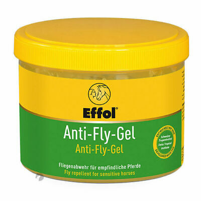 NEW Effol Anti Fly Repellent Gel with sponge horse dog cattle 500ml