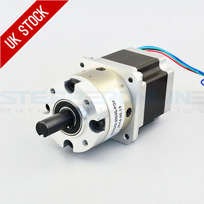 4:1 Planetary Gearbox Nema 23 Stepper Motor 2.8A for DIY CNC Mill Lathe Router
