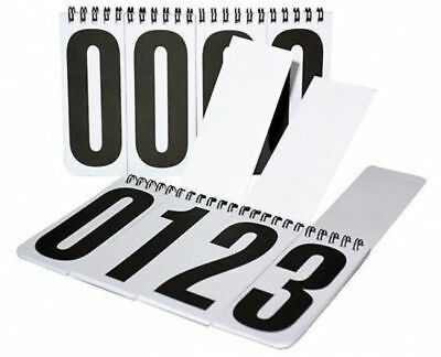 NEW Competition Back Number Set of 2 eventing carriage horse FREE POSTAGE